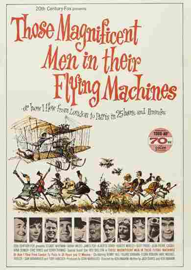 Воздушные приключения / Those Magnificent Men In Their Flying Machines Or How I Flew From London To Paris In 25 Hours 11 Minutes (1965)